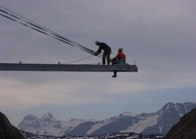 Brücke Oberaletschschlucht